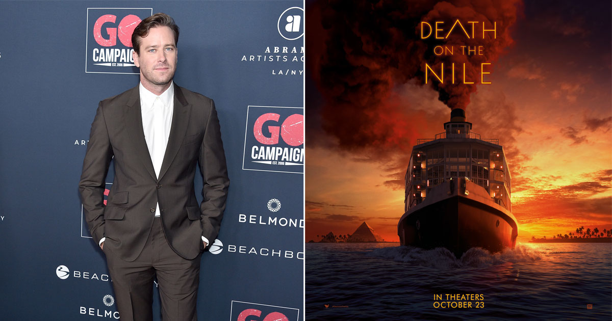 Armie Hammer To Be Replaced In Death On The Nile?