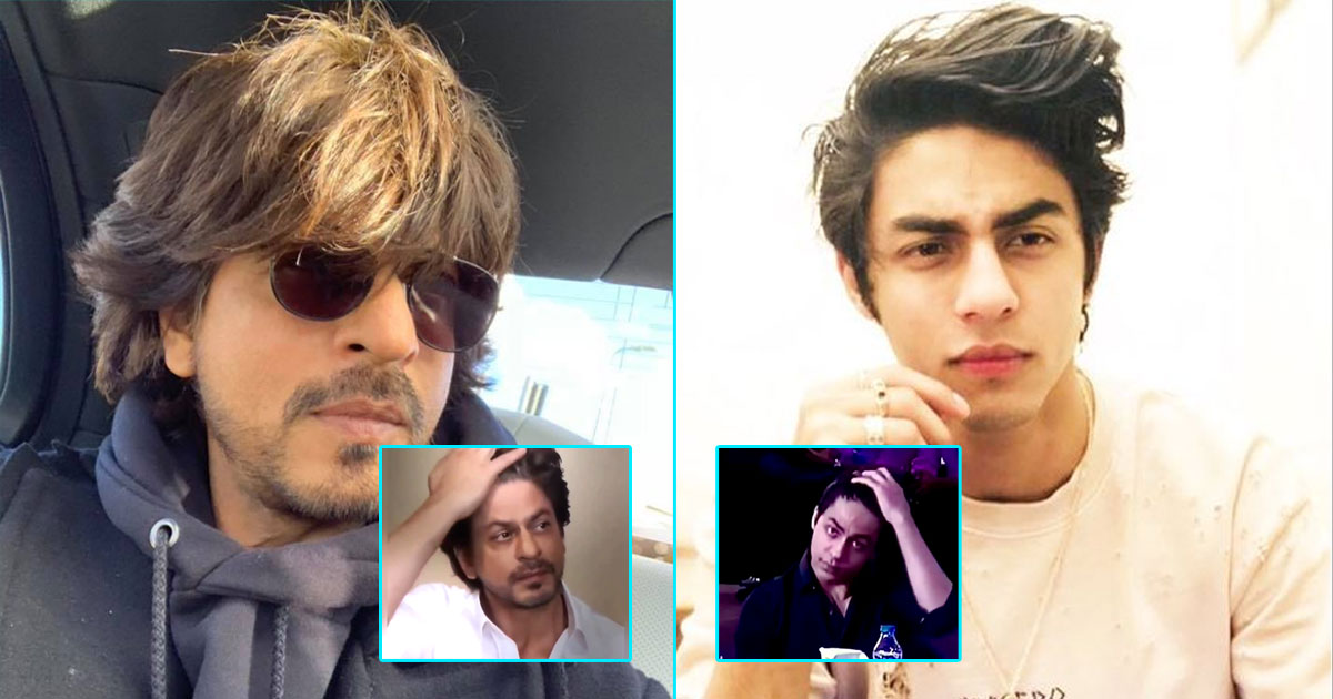 Aryan Khan In This Viral IPL 2021 Auction Video Sets His Hair Exactly Like Shah Rukh Khan