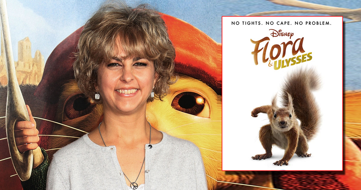 """Kate DiCamillo On 'Flora & Ulysses' Being Adpated Into A Film: """"The Screenplay Is So Wonderful"""""""