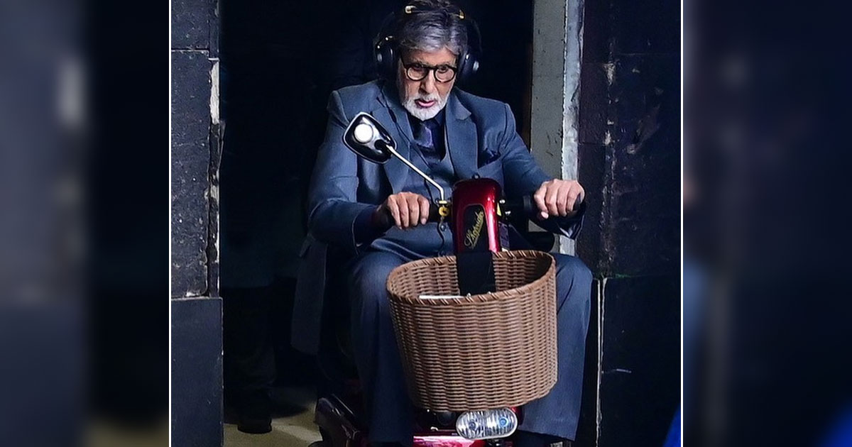 Big B's 'Toy Boy' moment on set