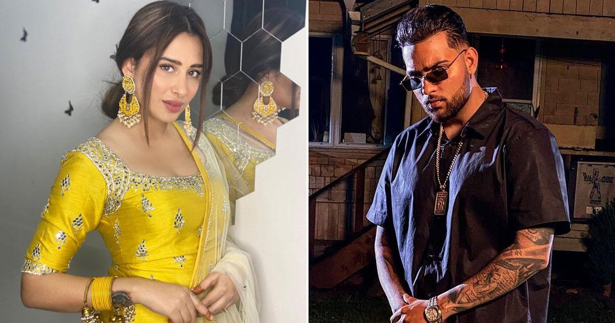 'Bigg Boss 13' fame Mahira Sharma in Punjabi star Karan Aujla's music video