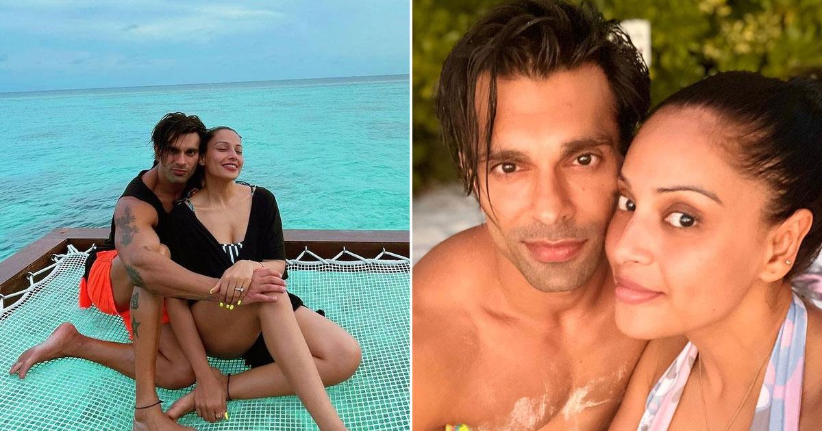 Bipasha Basu, Karan Singh Grover's 'monkey love' in Maldives