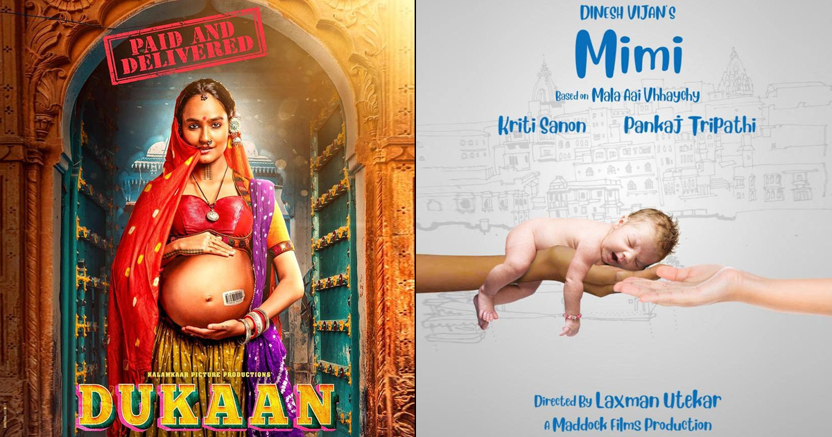 Bollywood reloads the surrogacy story