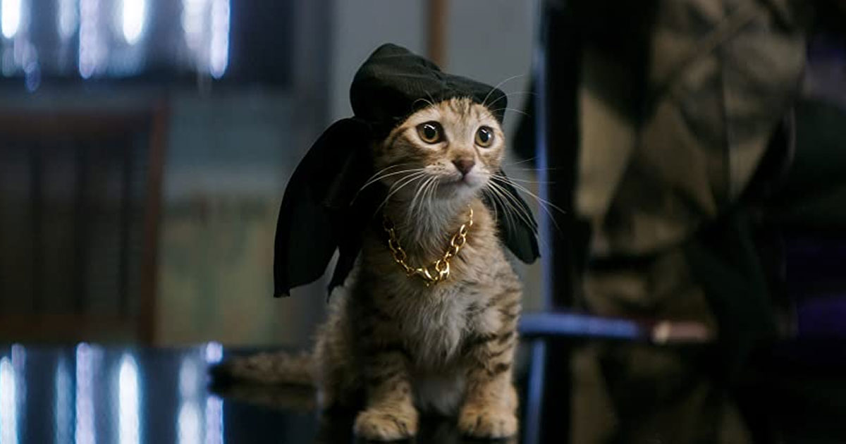 A Still Of Keanu From The Movie Of The Same Name