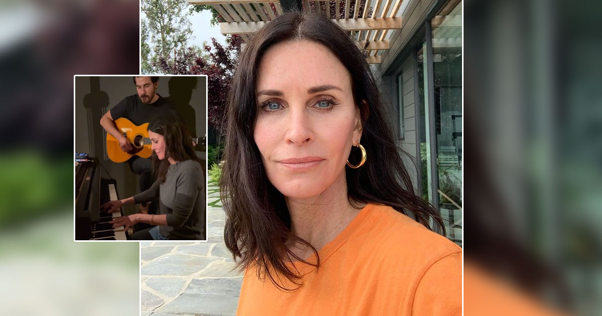 Courtney Cox AKA Monica Geller Showcases Her Piano Prowess With Friends Theme Song In Viral Video