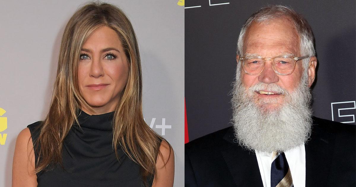 David Letterman Licking Jennifer Aniston's Hair Goes Viral