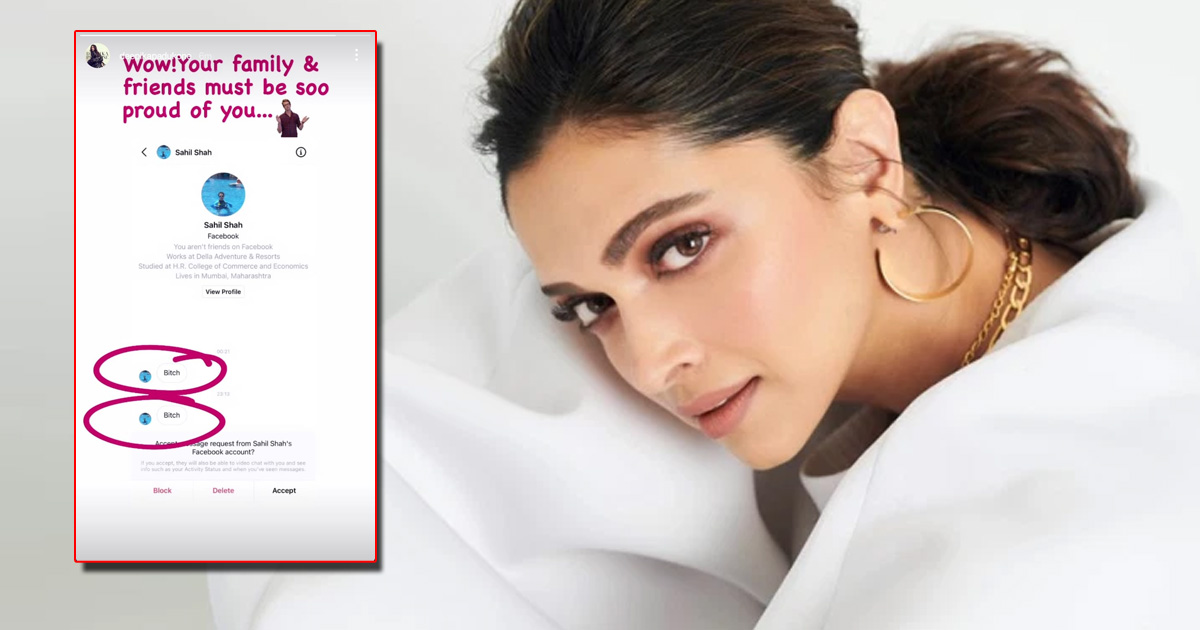 Deepika Padukone Gives A Kick-A** Reply To A Troll Calling Her A 'Bit*h', Check Out