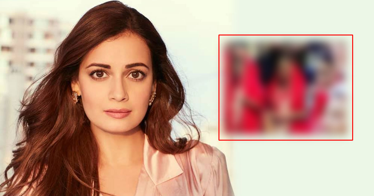 Dia Mirza Looks Beautiful As Ever In Her Red Wedding Joda - See First Pics