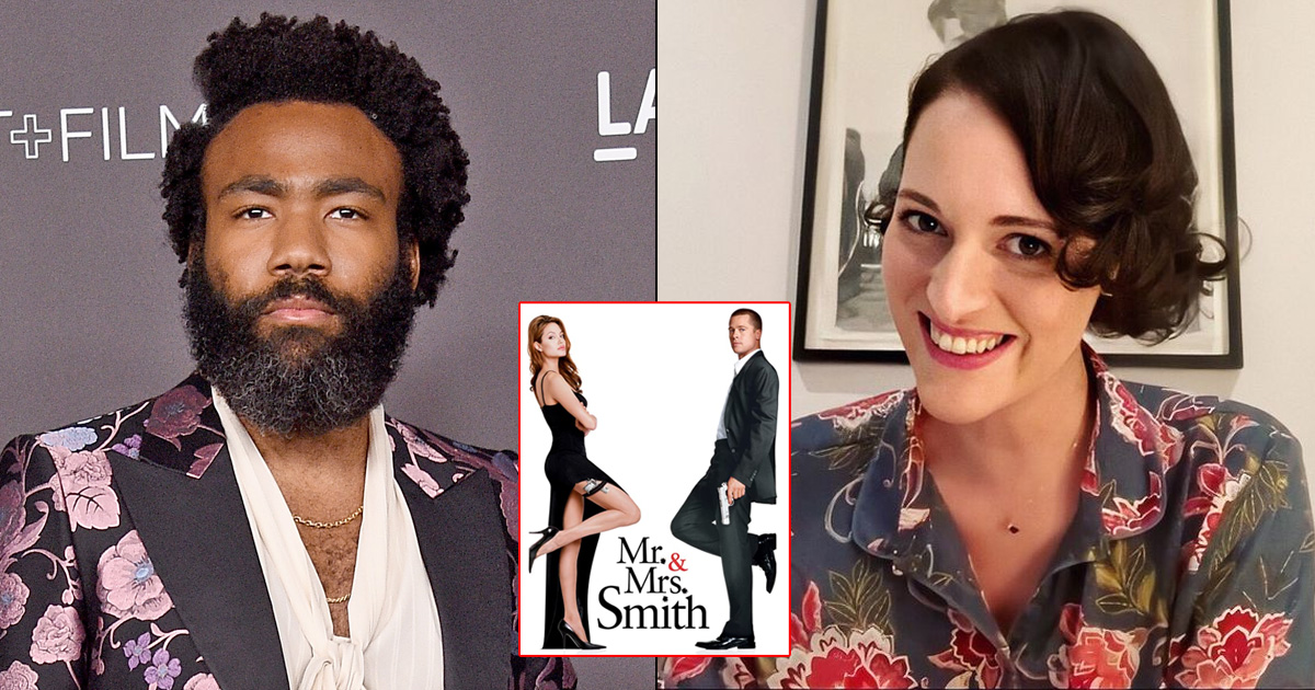 Donald Glover & Phoebe Waller-Bridge Team Up For Mr & Mrs Smith Series For Amazon Prime Video