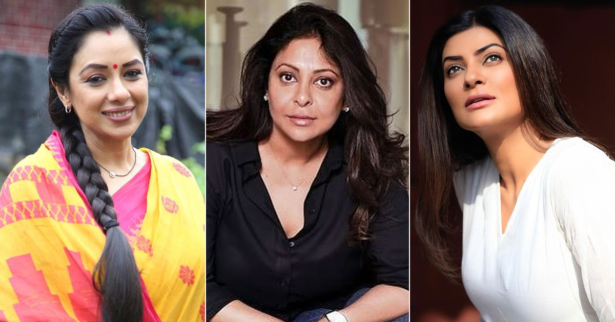 From Rupali Ganguly, Shefali Shah To Sushmita Sen - 40 Is The New 20 For Female Actresses