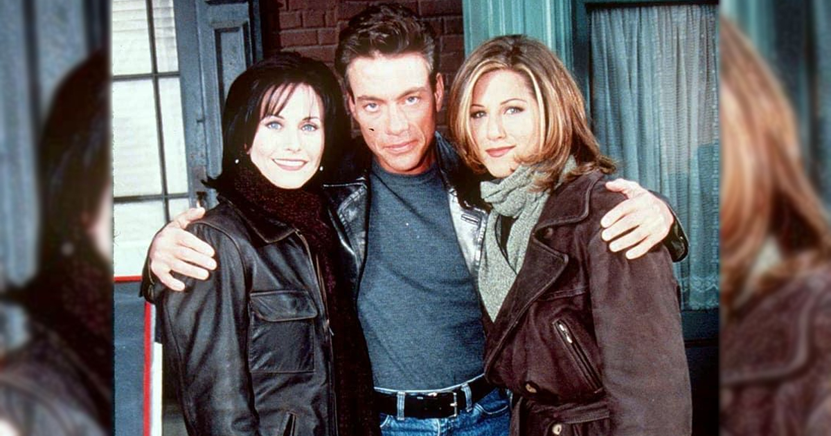FRIENDS Stars Jennifer Aniston & Courteney Cox Had A Difficult Time Working With Jean-Claude Van Damme