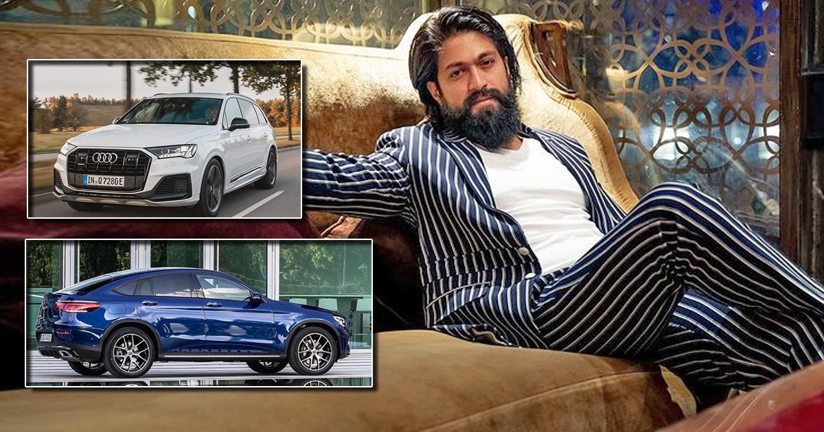 From Audi Q7 To Mercedes GLC 250D Coupe, Take A Look At KGF Star Yash's Car Collection