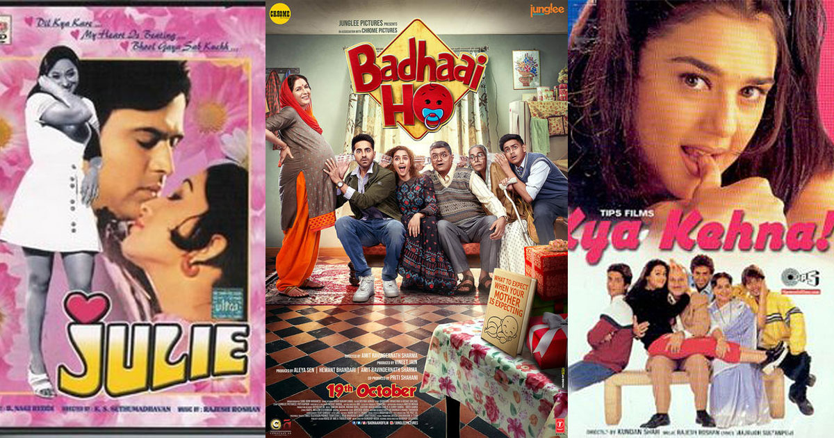 From Julie To Kya Kehna, Badhaai Ho & More – Bollywood Movies That Spoke About Different Pregnancies