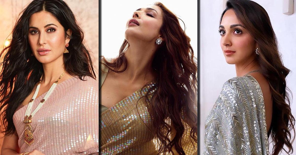 From Kiara Advani, Katrina Kaif To Malaika Arora - Manish Malhotra's Sequins Saree Would Be A Perfect Pick For Your BFFs Wedding, Check Out