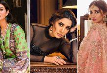 From Mahira Khan, Mehwish Hayat To Sarah Khan - 5 Actresses From Pakistani Whose Fashion-Sense Screams Royalty