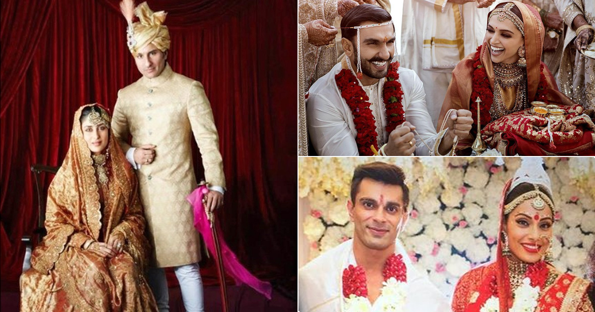 These Bollywood Couples Took Love From Reel To Real By Getting Married After Working Together!