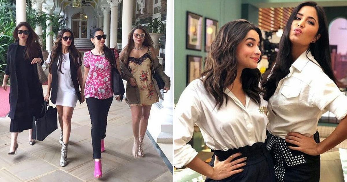Galentine's Day 2021: From Kareena Kapoor Khan & Amrita Arora To Alia Bhatt & Katrina Kaif – 5 Bollywood Gal Pals Who Wouldn't Let You Miss Your Valentine