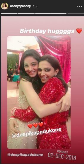 Ananya Panday Deepika Padukone