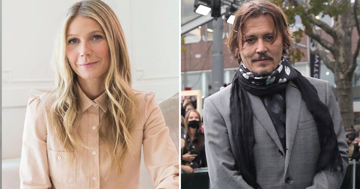 Gwyneth Paltrow Thought She Was The Coolest Until She Met Johnny Depp, Read On