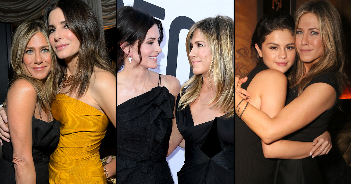 Happy Birthday Jennifer Aniston: From Courteney Cox To Sandra Bullock - Here's Why She's A Perfect Girlfriend To Her Girlfriends, Read On