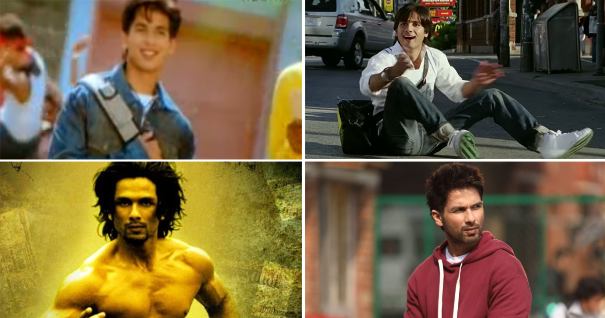 From Ishq Vishk's Chocolate Boy To Kabir Singh's Obsessed Lover Here's Looking Back At Shahid Kapoor's Transformation