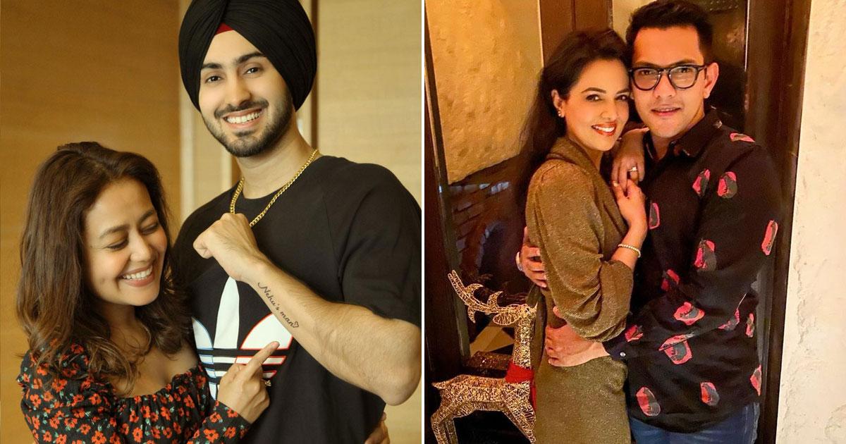 Rohanpreet Singh Inks Neha Kakkar's Name On Valentine's Day; Aditya Narayan & Shweta Agarwal Lock Lips In A Romantic Pic!