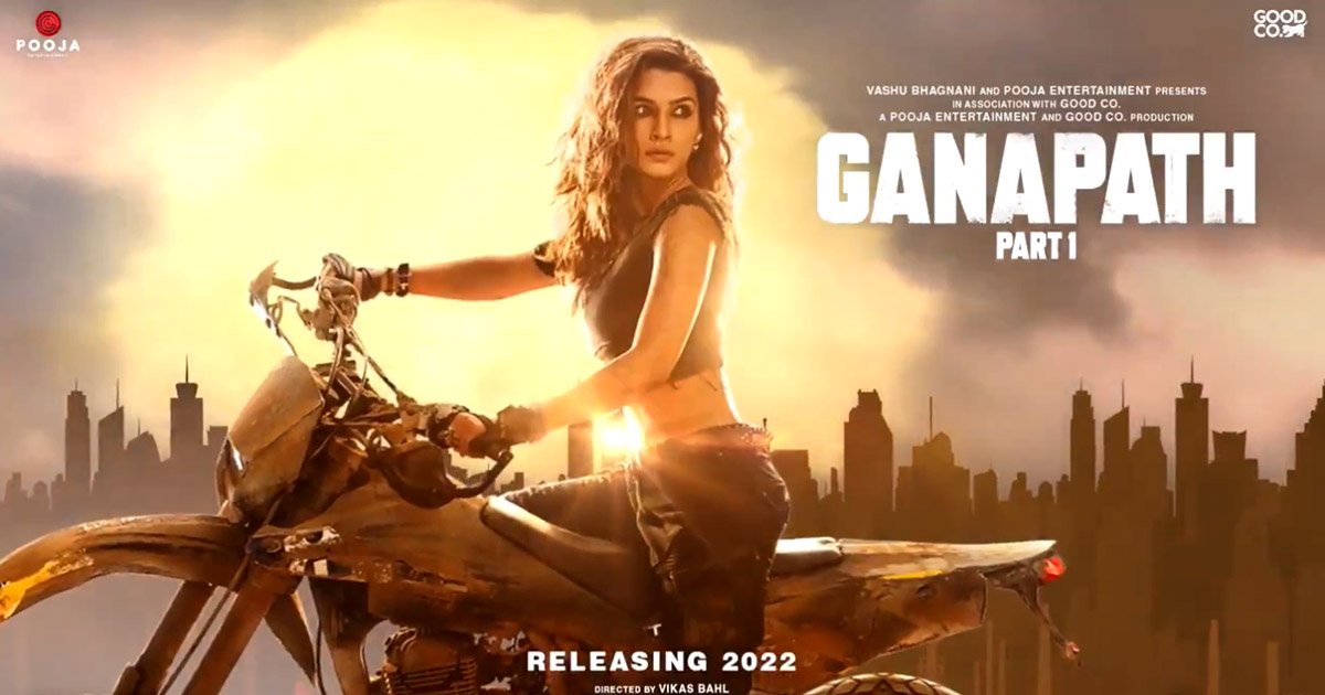 Ganapath: Kriti Sanon Is Tiger Shroff's Leading Lady & We Are So Excited