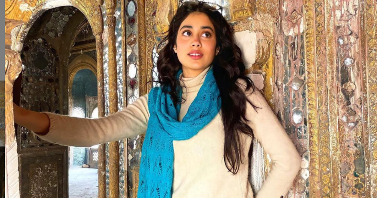 Janhvi Kapoor Shares A Fascinating Pic On Her Instagram