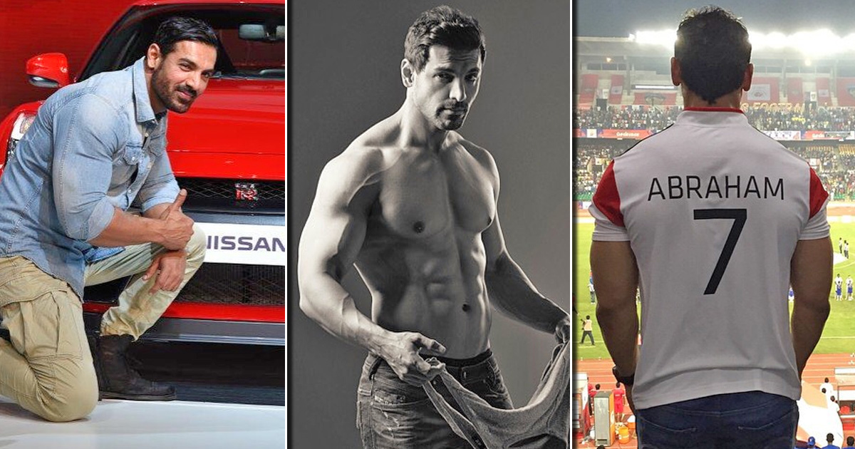 John Abraham Owned 5 Most Prized Possessions!