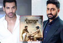 John Abraham Ropes In Abhishek Bachchan For Ayyapanum Koshiyum Hindi Remake?