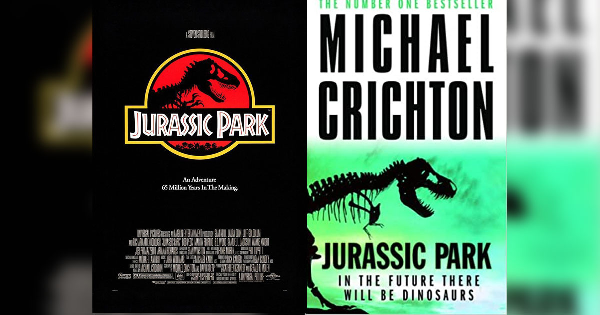Micheal Crichton's Jurassic Park Was Adapted On The Silver Screen By Steven Spielberg In 1993