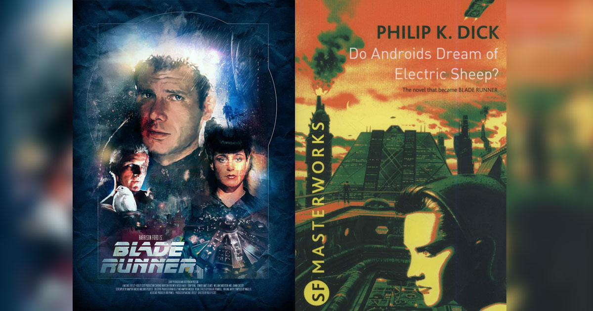 Philip K. Dick's Do Androids Dream of Electric Sheep? Was Adapted By Ridley Scott On The Silver Screen As Blade Runner In 1982