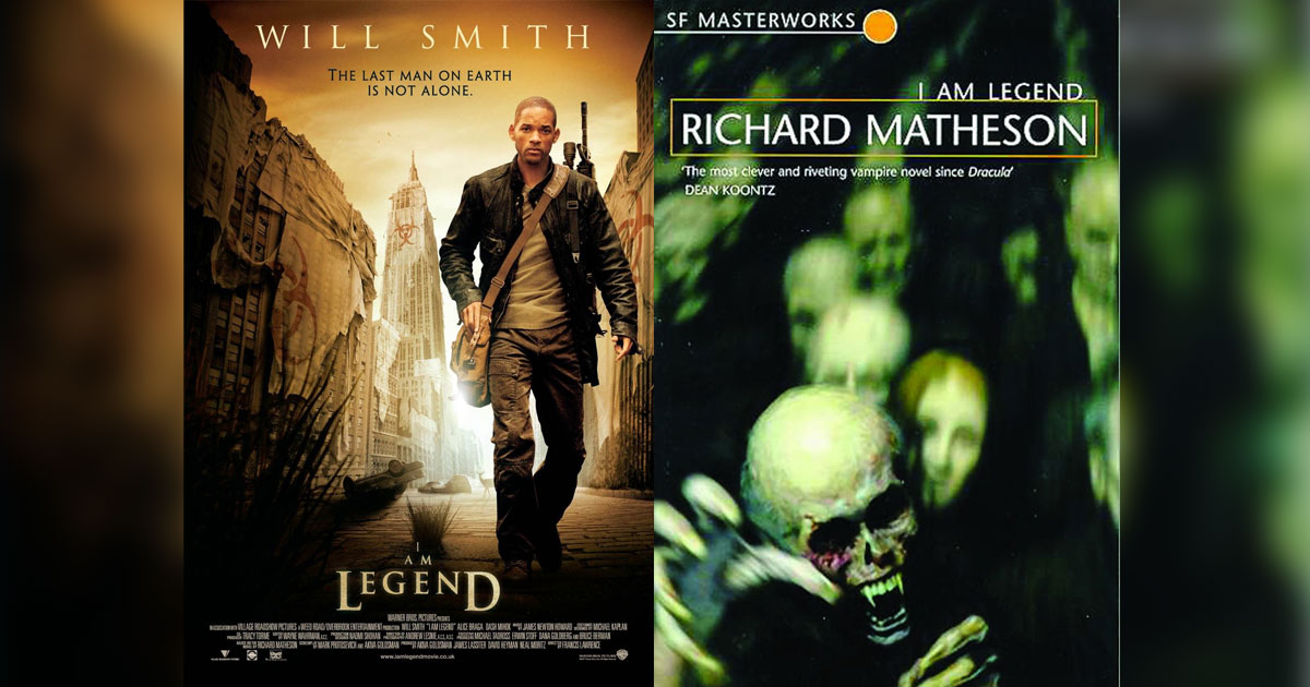 Richard Matheson's I Am Legend Was Made Into A Film By Francis Lawrence In 2007