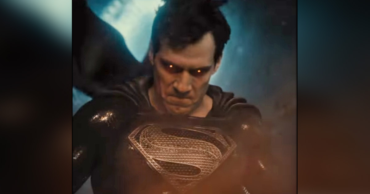 Justice League: Zack Snyder Shares New Teaser With Superman In Black Suit