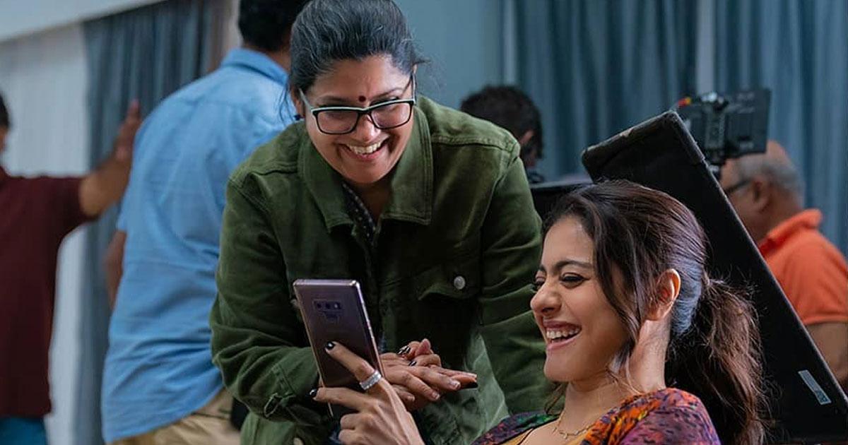 Kajol reveals her 'meme sharing' look