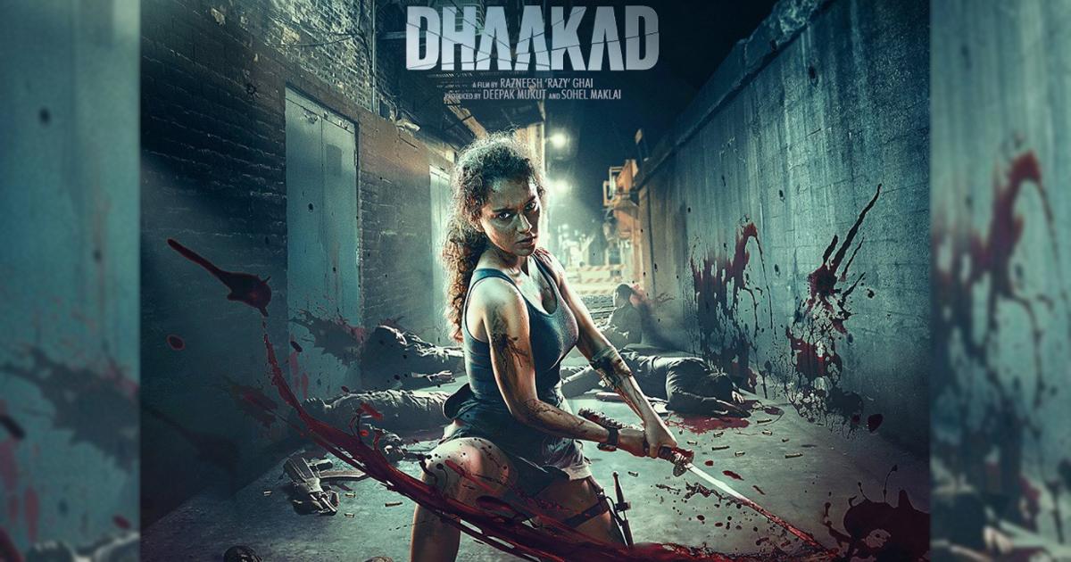 Dhaakad: Kangana Ranaut Gets Into Action Mode In A Coal Mine