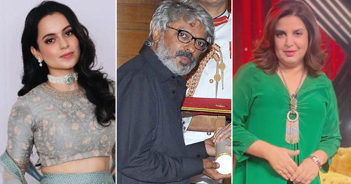 Kangana Ranaut Claims She Rejected Items Songs By Farah Khan & Sanjay Leela Bhansali