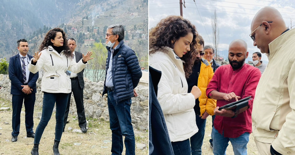 Kangana Ranaut opens cafe and restaurant in Manali