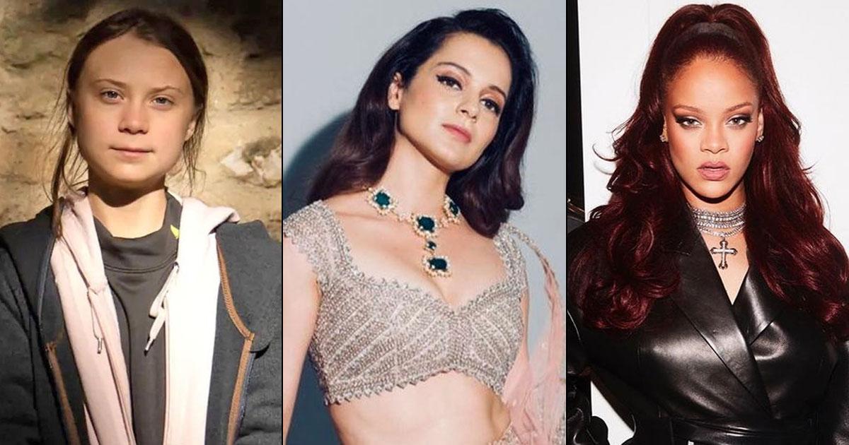 """Kangana Ranaut Slams Rihanna & Greta Thunberg: """"Bharat Ke Brutally Tukde Karne Ki Saajish Hai"""""""
