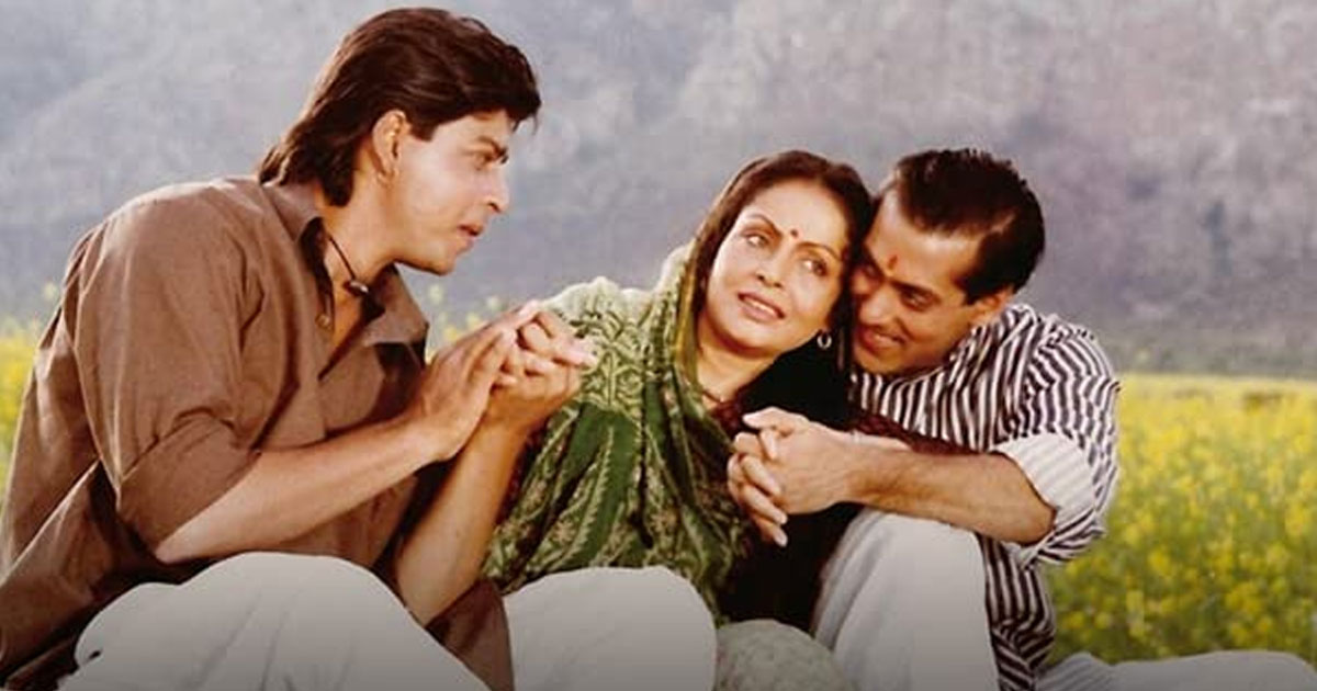 Shah Rukh Khan & Salman Khan's Karan Arjun Aa Gaye & This Happened!
