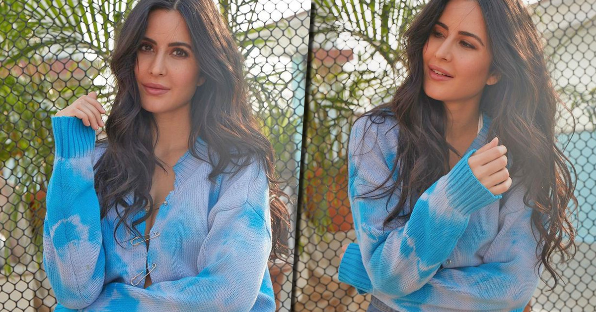 Katrina Kaif Gives A Modern Twist To The Tie & Dye Trend With Her Swanky Pullover – See Pics