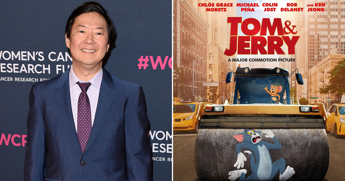 """Tom & Jerry Actor Ken Jeong: """"There's So Much Chaos & Craziness Adding To The Fun"""""""