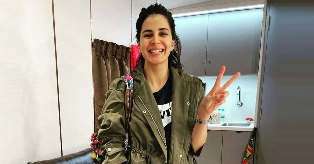 Kirti Kulhari Looks Flawless Even After An Entire Night Of Shooting, We Wonder What's The Secret?