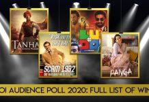 Koimoi Audience Poll 2020 Full List Of Winners: Historic Feat For Ajay Devgn's Tanhaji, Scam 1992 Wins Big!