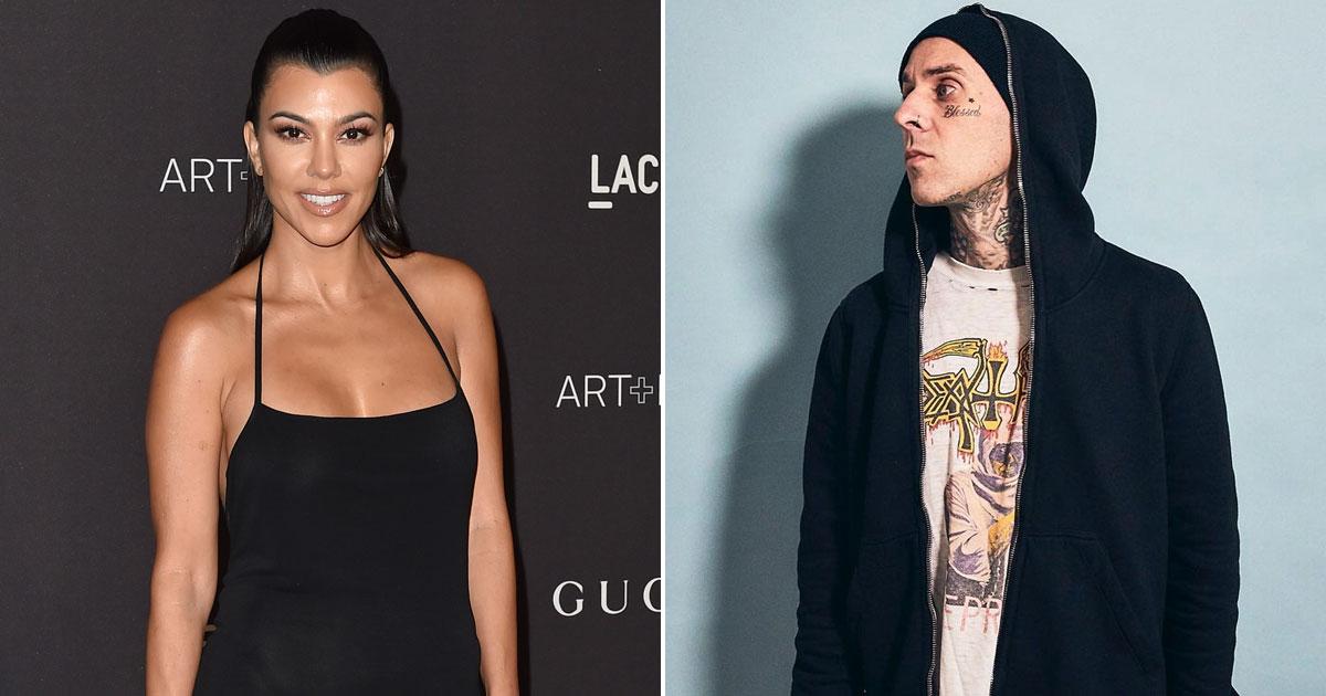 Kourtney Kardashian makes relationship with Travis Barker Insta official