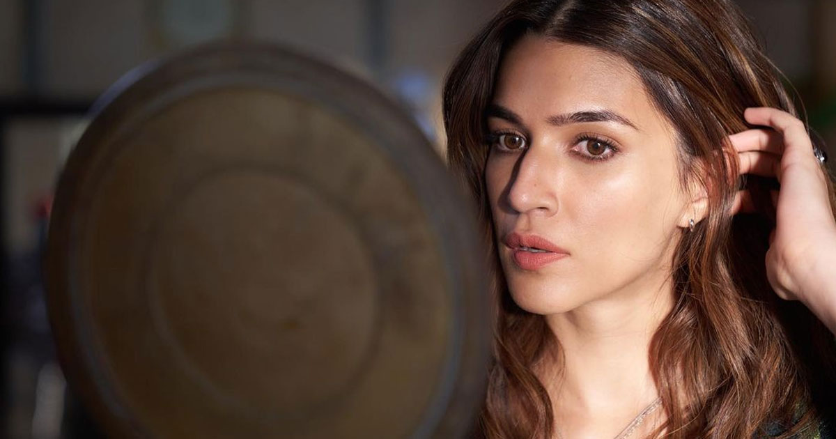 Kriti Sanon shares picture of 'final touches' before 'Bachchan Pandey' shoot