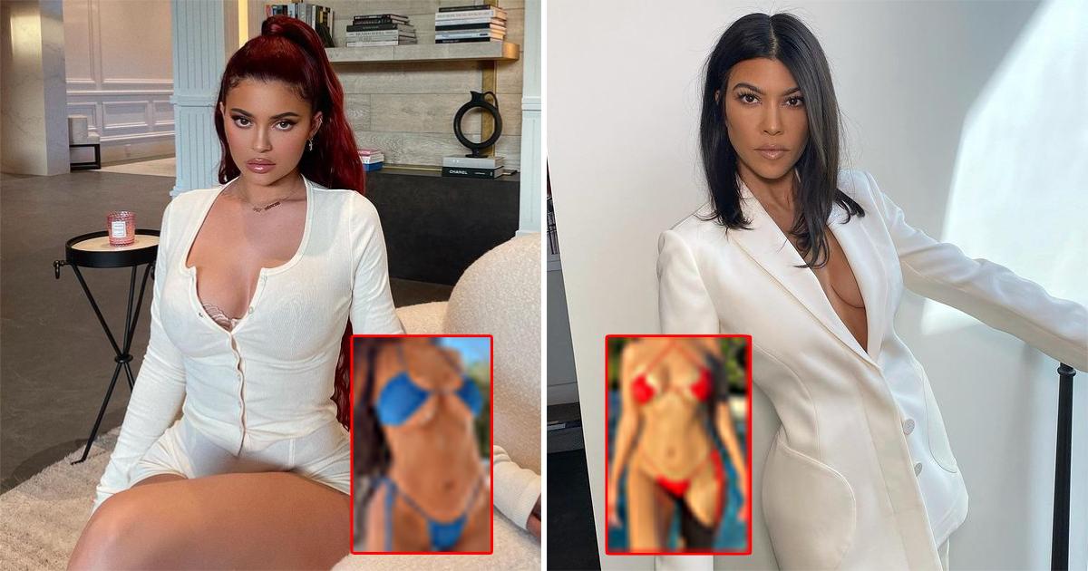 Kylie Jenner In A Hotter Version Of 'Barely-There' Bikini Following Kourtney Kardashian