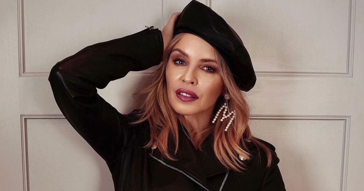 Kylie Minogue gets engaged