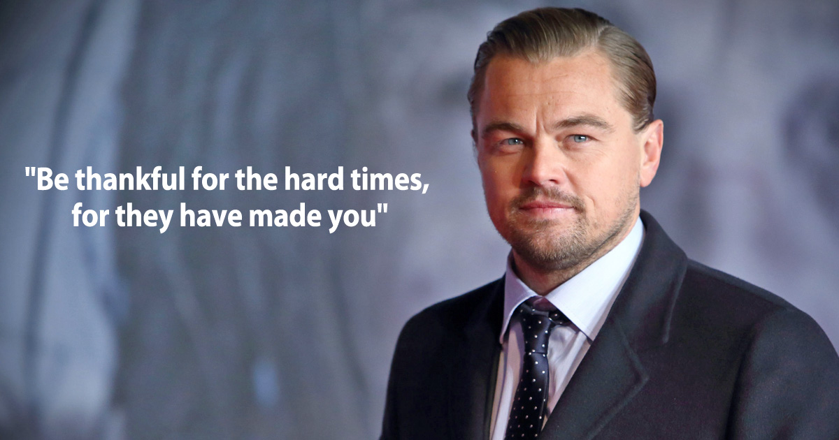 Leonardo DiCaprio Quotes: These 8 Lines By The Titanic Star Will Inspire You To Choose Rich Every Fuc**** Time, Read On