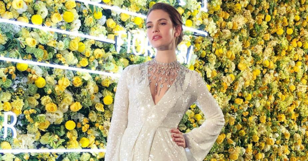 Lily James plans to move to LA to avoid kissing controversy